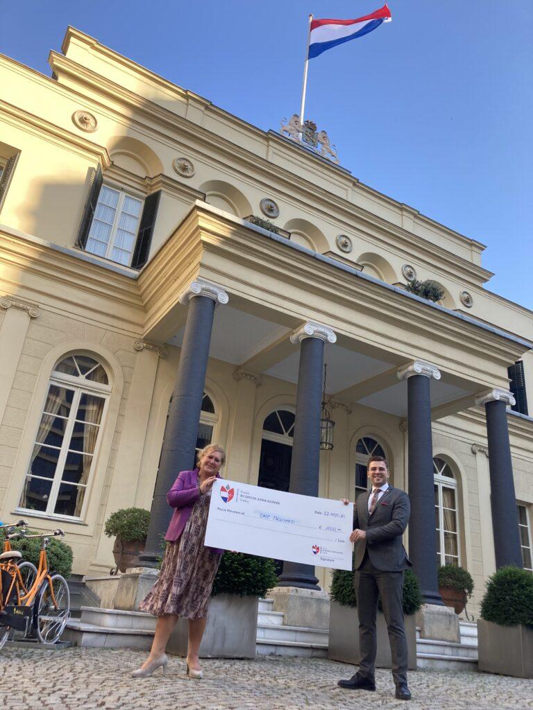 27 September 2021 - Turkish Education Foundation (TEV) Donation handover